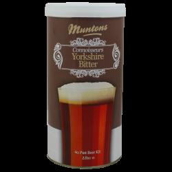 Muntons Connoisseurs Yorkshire Bitter - 1.8kg - 40 Pint - Single Tin Beer Kit