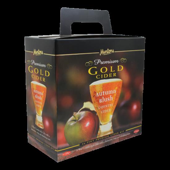 Muntons Premium Gold - Autumn Blush Cider - 30 Pint - Two Tin Cider Kit