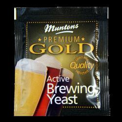 Muntons Premium Gold Beer / Ale Yeast - 6g Sachet