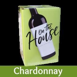 On The House - Chardonnay - 30 Bottle Wine Kit