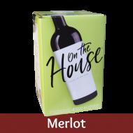 On The House - Merlot - 30 Bottle Wine Kit