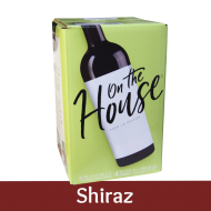 On The House - Shiraz - 30 Bottle Wine Kit