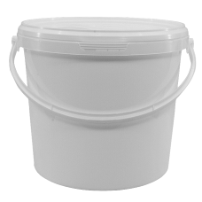 10 Litre Food Grade Plastic Bucket With Lid