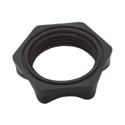 Plastic Back Nut For Tap with 25mm Thread - Lever Tap, Fermentation Vessel Tap