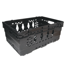 Stacking & Nesting Storage Crate - Large, Heavy Duty
