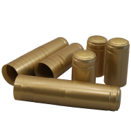 Shrink Capsules - For Wine Bottles - Gold - Pack of 30