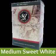 Solomon Grundy Classic - Medium Sweet White Wine Kit - 30 Bottle - Seven Day Kit