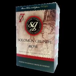 Solomon Grundy Classic - Rose Wine Kit - 6 Bottle - Seven Day Kit