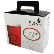 St Peters Ruby Red Ale - 40 Pint Beer Kit - Tawny Ale With Spicy Hops