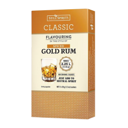 Still Spirits - Classic - Spiced Gold Rum Essence - Twin Sachet Pack