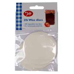 Tala Wax Discs For Jams And Preserves - For 2lb Jars - Pack Of 200
