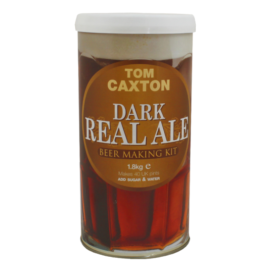 Tom Caxton Dark Real Ale - 1.8kg - 40 Pint - Single Tin Beer Kit
