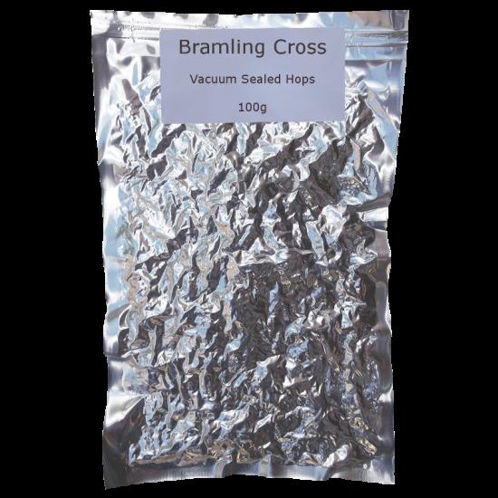 Bramling Cross Whole Leaf Hops - Vacuum Packed - 100g