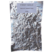 First Gold Whole Leaf Hops - Vacuum Packed - 100g