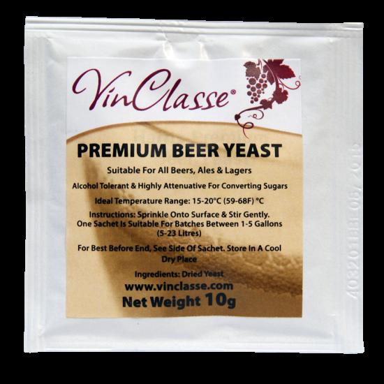 Vinclasse Premium Beer Yeast - 10g Sachet