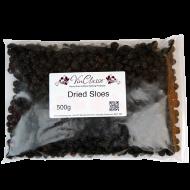 Dried Sloe Berries - 500g Bag