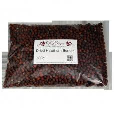 Dried Hawthorn Berries - 500g Bag