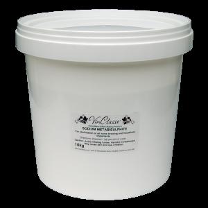 VinClasse Sodium Metabisulphite - 10kg Bucket