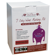VinClasse French Style Red Wine Kit - 23 Litres 7 Day - Requires Sugar
