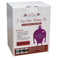 VinClasse Italian Style Red Wine Kit - 23 Litres 7 Day - Requires Sugar