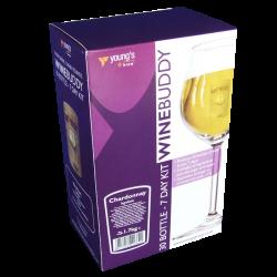 Youngs Winebuddy Wine Kit - Chardonnay - 30 Bottle - 7 Day Kit