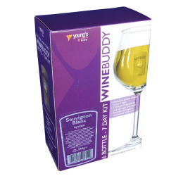 Youngs Winebuddy Wine Kit Refill - Sauvignon Blanc - 6 Bottle - 7 Day Kit