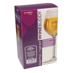 Youngs Winebuddy Wine Kit - White Zinfandel - 30 Bottle - 7 Day Kit