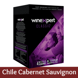 Winexpert Classic - Chilean Cabernet Sauvignon - 30 Bottle Wine Kit