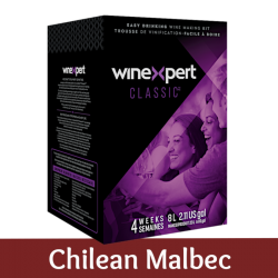 Winexpert Classic - Chilean Malbec - 30 Bottle Wine Kit