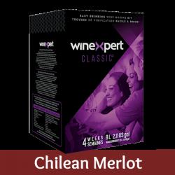Winexpert Classic - Chilean Merlot - 30 Bottle Wine Kit