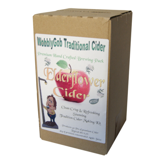 WobblyGob - Elderflower Cider - 40 Pint