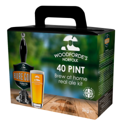 Woodfordes Bure Gold - 40 Pint - Aromatic, Golden Real Ale Kit