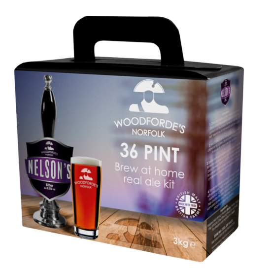 Woodfordes Nelsons Revenge - 36 Pint Beer Kit - Citrus Hopped Premium Ale