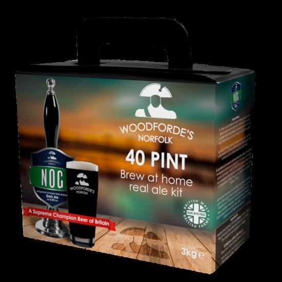 Woodfordes Nog - 40 Pint Beer Kit - Rich, Dark Old Ale