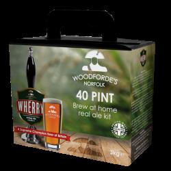 Woodfordes Wherry - 40 Pint - Award Winning Real Ale Kit