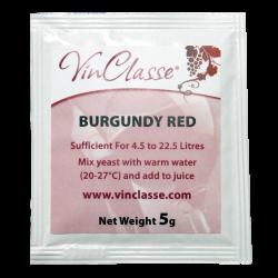 VinClasse Wine Making Yeast - Burgundy Red - 5g Sachet