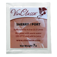 VinClasse Wine Making Yeast - Sherry and Port - 7g Sachet