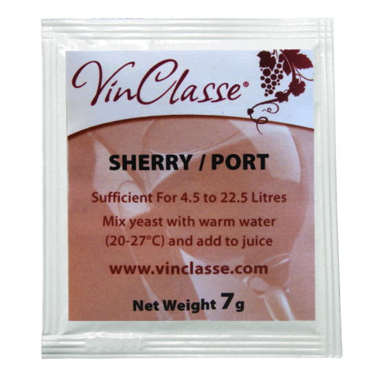 VinClasse Wine Making Yeast - Sherry and Port - 7g Sachet