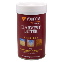 Youngs Harvest Bitter - 1.5kg - 40 Pint - Single Tin Beer Kit