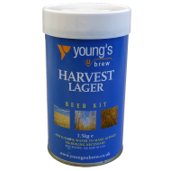 Youngs Harvest Lager - 1.5kg - 40 Pint - Single Tin Beer Kit